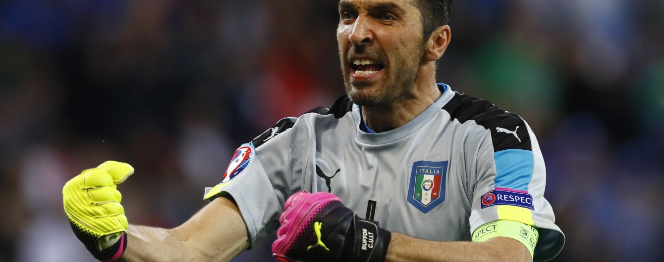 Легендарний голкіпер італійців ризикує пропустити матч Євро-2016 проти ірландців