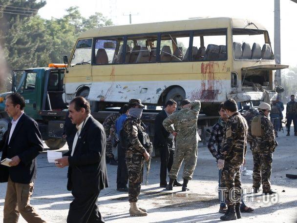 У Кабулі підірвали автобус з держслужбовцями, є загиблі