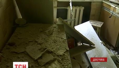 В Красногоровке от обстрела пострадали 2 гражданских