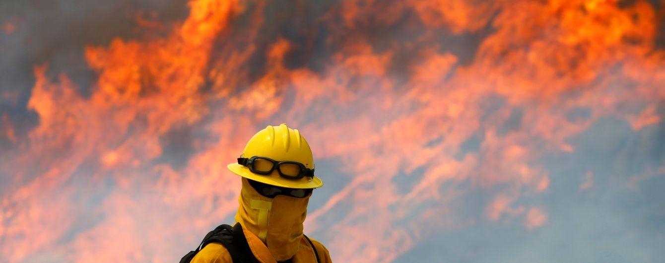 У США через потужну лісову пожежу більше двох тисяч людей залишили свої будинки
