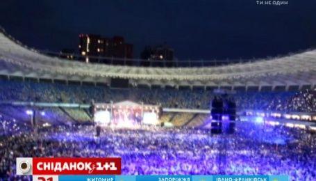 """В мережі не припиняють ділитися враженнями про грандіозний концерт """"Океану Ельзи"""" в Києві"""