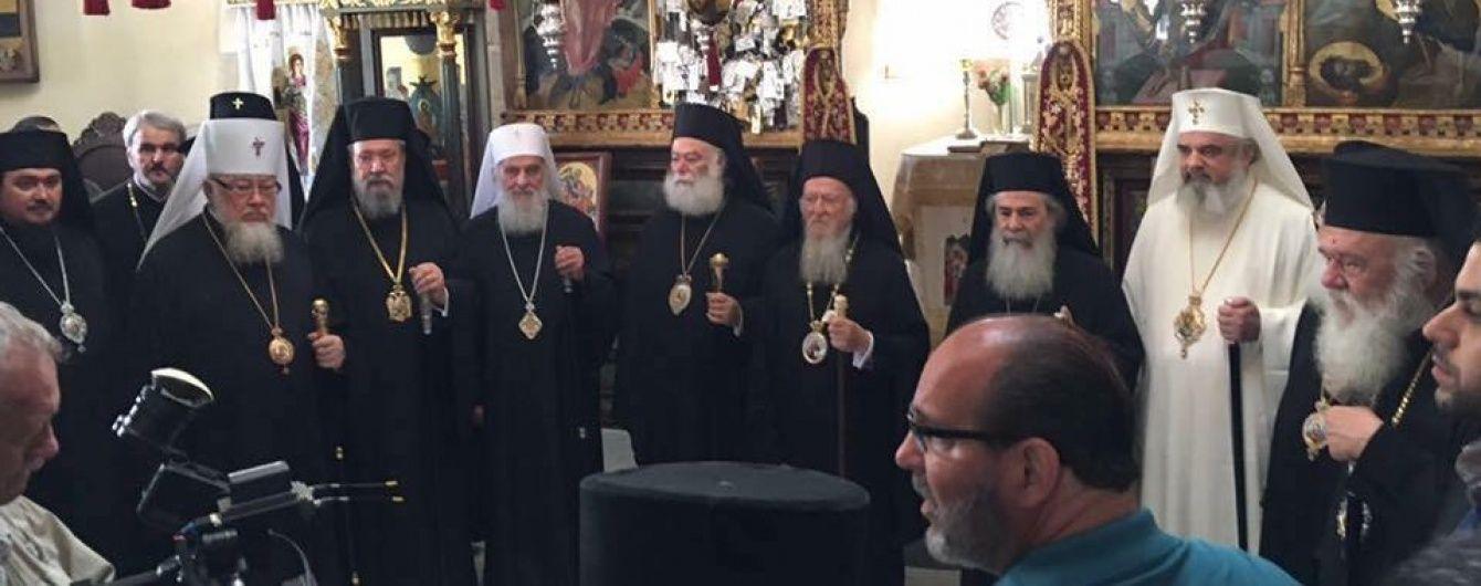 """Москві не вдалося """"поховати"""" Всеправославний собор. Більшість церков прибуло на Крит"""
