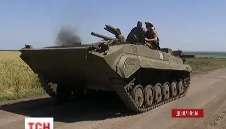 Боевики активно укрепляются и постоянно обстреливают украинские позиции