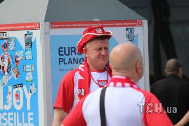 Україна - Польща. Вболівальники заполонили Марсель перед матчем Євро-2016