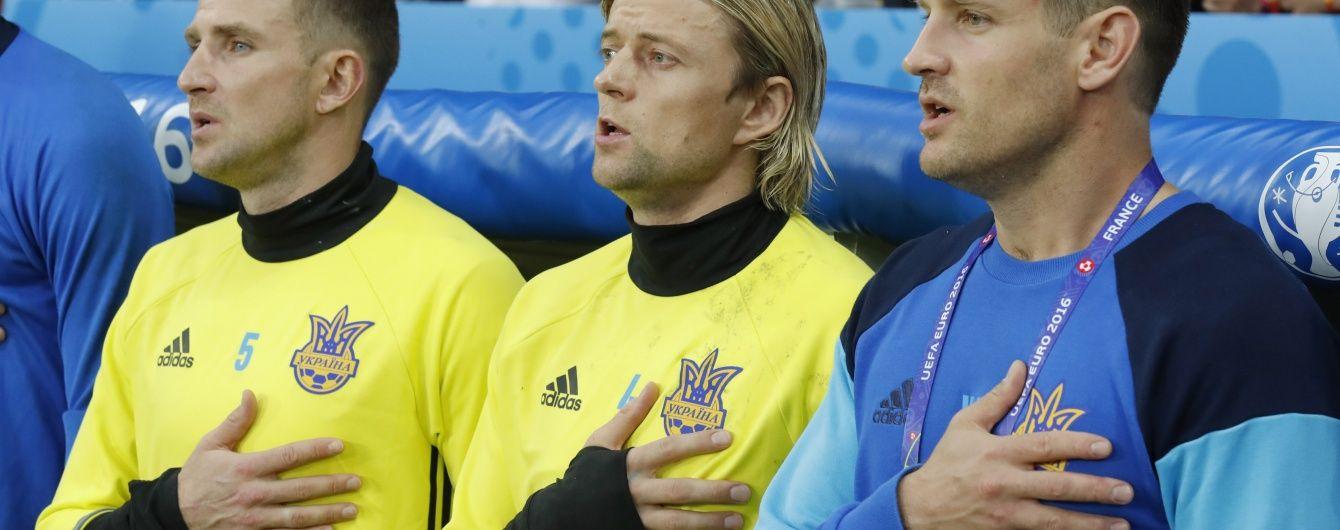 Захисник збірної України обурився виходом Тимощука у матчі Євро-2016 проти поляків