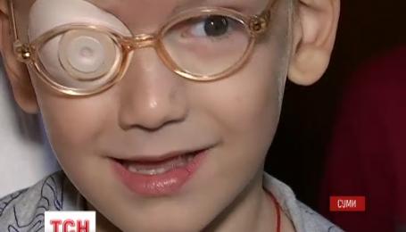 Повернути зір 4-річному Сашку Демченку із Сум можуть в Ізраїлі