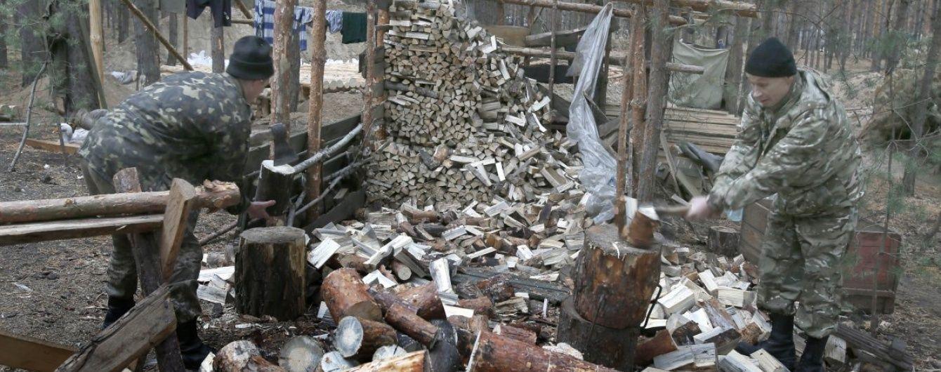 Кримські окупанти закликають мешканців півострова робити запаси дров з літа