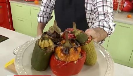 Рецепт фаршированных овощей от Руслана Сеничкина