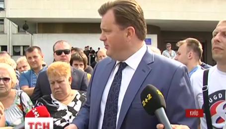 Председатель Киевской ОГА ответил на вопросы водителей