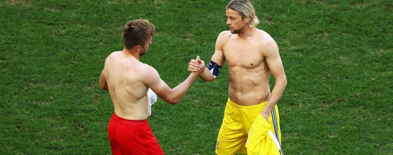 Тимощук прокоментував свою заміну: це можливість вийти в матчі Євро