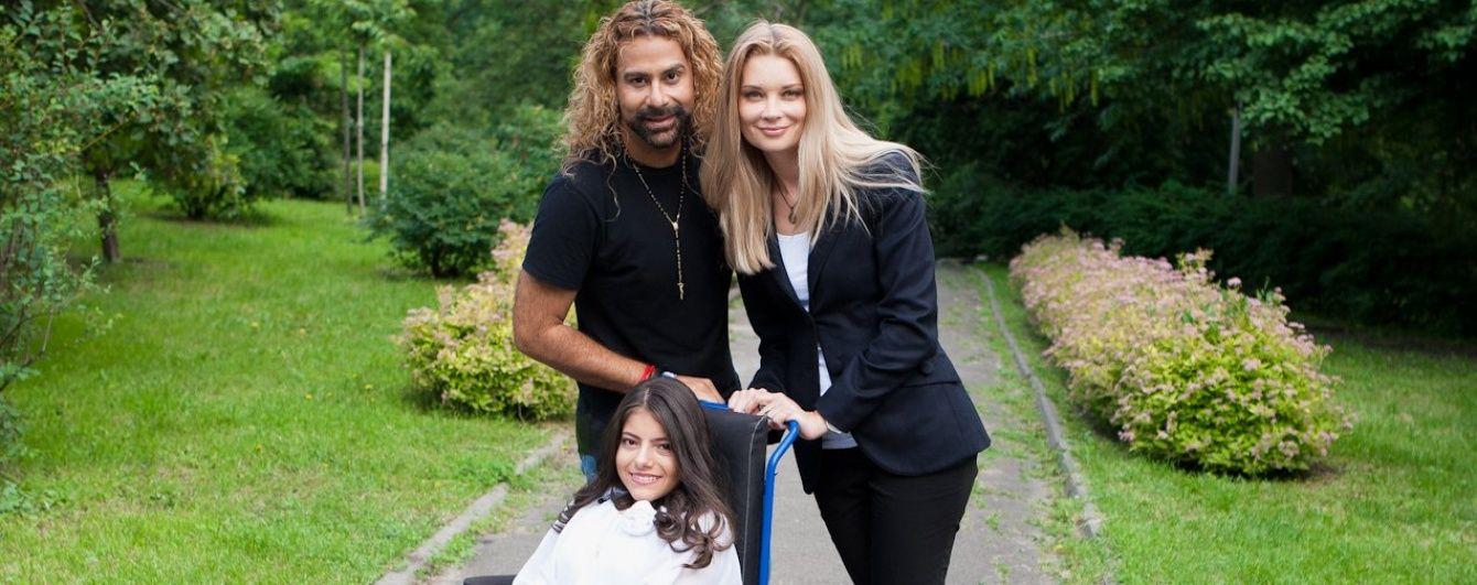 Лідія Таран запросила дівчинку Богдану з Хмельниччини на зустріч із хореографом Амадором Лопесом