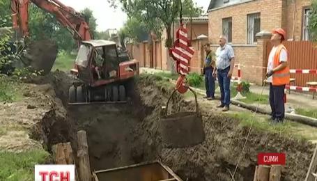 В Сумах один из микрорайонов остался без воды