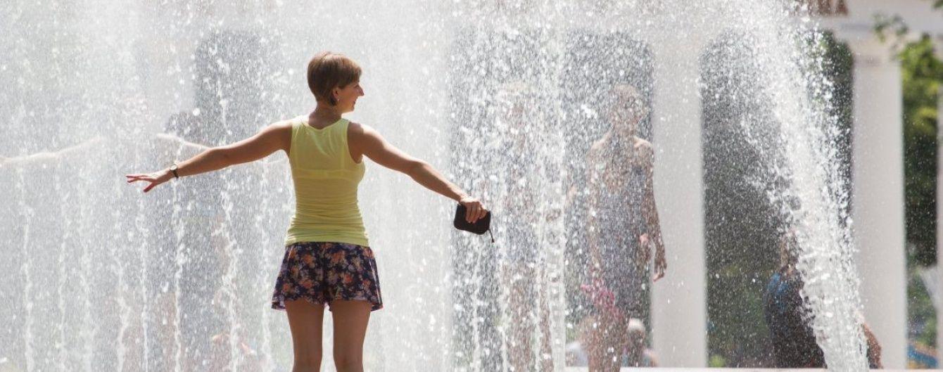 Неділя буде дуже спекотною. Прогноз погоди на 26 червня