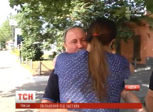 Романчук вийшов з СІЗО