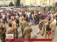 У столиці маршрутники протестували проти Державної транспортної компанії