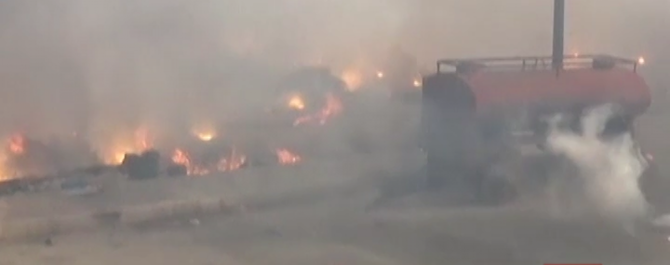 Сирійська опозиція оприлюднила відео, як російська авіація скидає касетні бомби