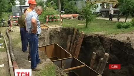 У Сумах відновили водопостачання