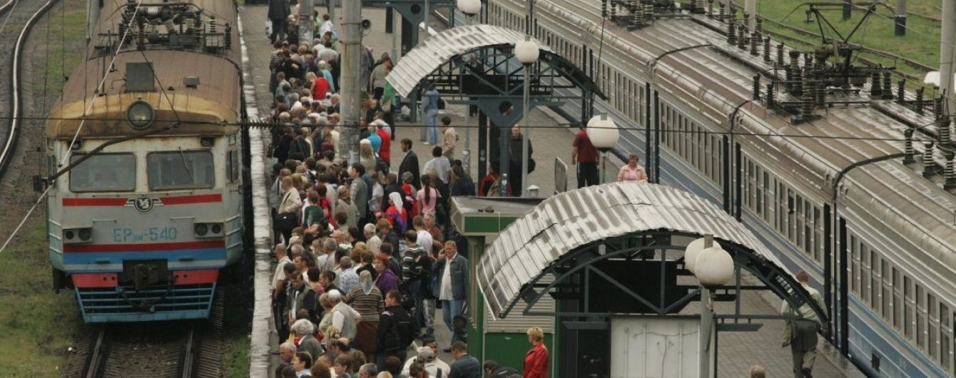 На Західній Україні підвищилася платня за проїзд у електричках