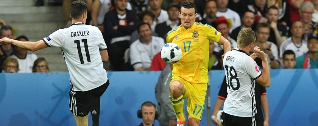 Федецькому не соромно за матчі з Німеччиною та Польщею на Євро-2016