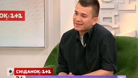 """В гостях у """"Сниданка"""" дизайнер, который создал платье Джамале для «Евровидения»"""