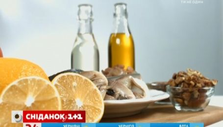 Советы диетолога. Роль кислота Омега-3