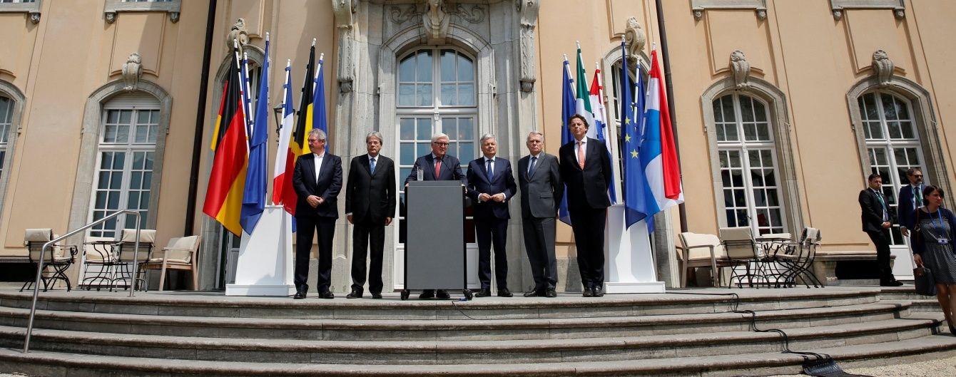 Міністри закордонних справ країн-засновниць ЄС закликали Британію якнайшвидше вийти із блоку