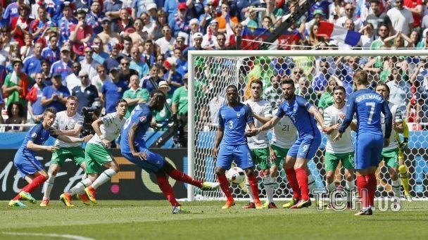 Як Франція вибивала Ірландію з Євро-2016