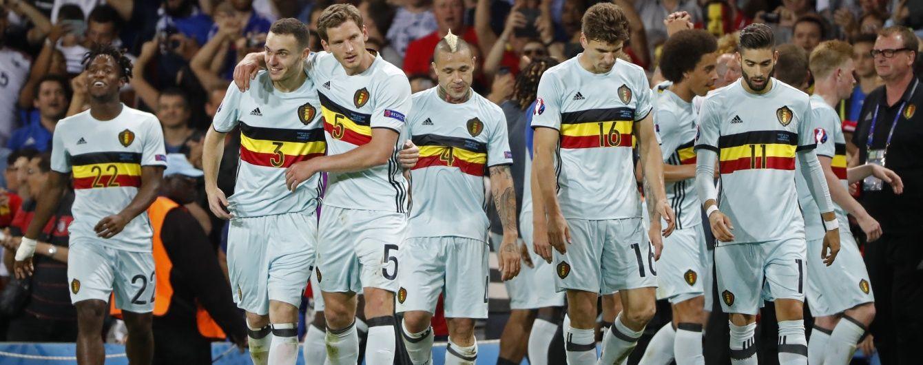 Бельгія розтрощила угорців і вийшла до чвертьфіналу Євро-2016