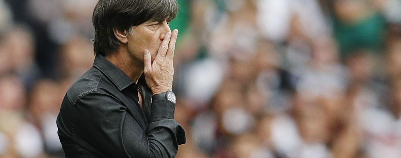 Збірна Німеччини подовжила контракт з головним тренером