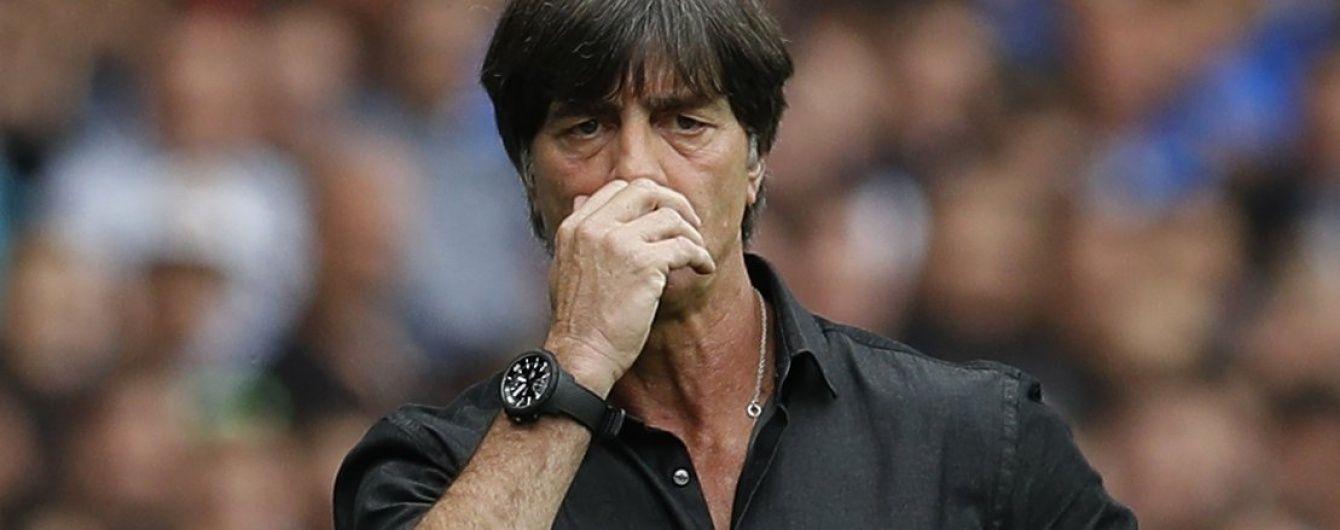 Знову занюхав. Тренер збірної Німеччини Льов продовжує дивувати фанатів