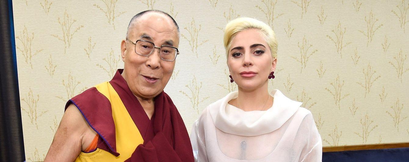 У Китаї заборонили Леді Гагу після зустрічі із Далай-ламою