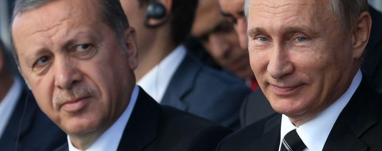 Результат розмови Путіна з Ердоганом: РФ поновлює стосунки з Туреччиною та знімає заборону на туризм