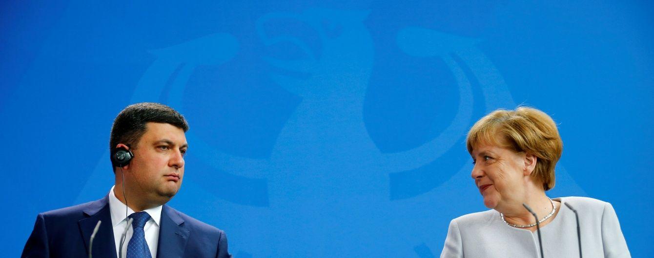 """Меркель поспівчувала """"українцям з малими прибутками"""" через підвищення тарифів"""