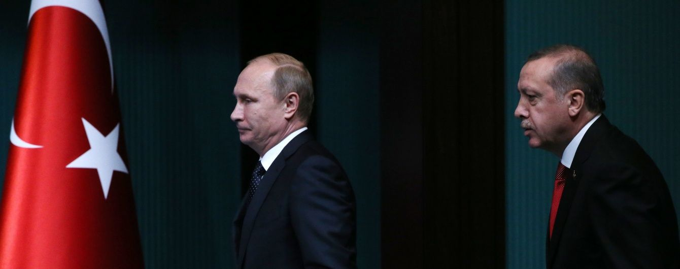 Російські ЗМІ перекрутили слова Ердогана, який нібито просив пробачення у Путіна