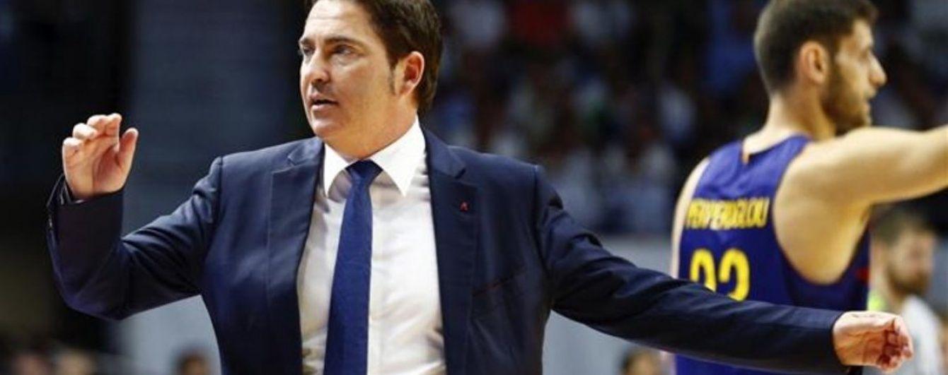 """Баскетбольна """"Барселона"""" змінила тренера після 8 років співпраці"""