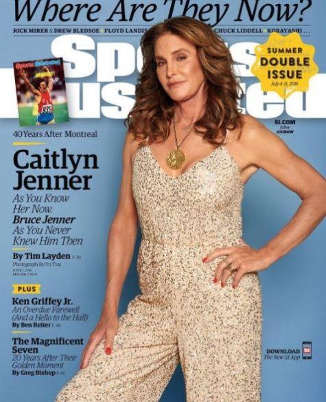 Кейтлін Дженнер у журналі про спорт