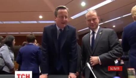 В Брюсселі завершився перший день надзвичайного саміту Євросоюзу