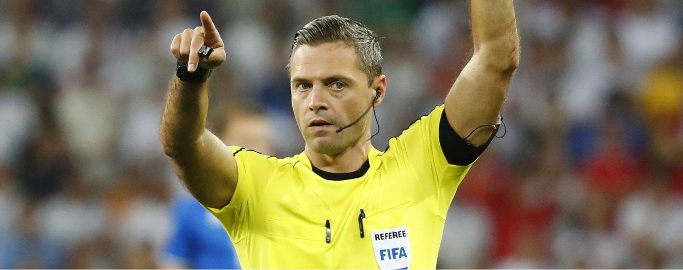 Словенський арбітр розсудить матч Бельгія – Уельс на Євро-2016