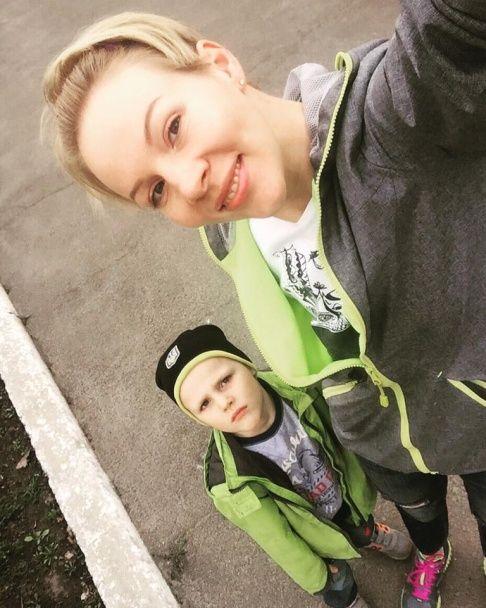 День народження Марини Леончук: зворушливі фото іменинниці із сином