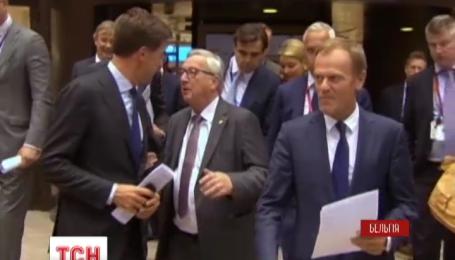 Сразу два украинских вопроса рассматривали в первый день саммита ЕС
