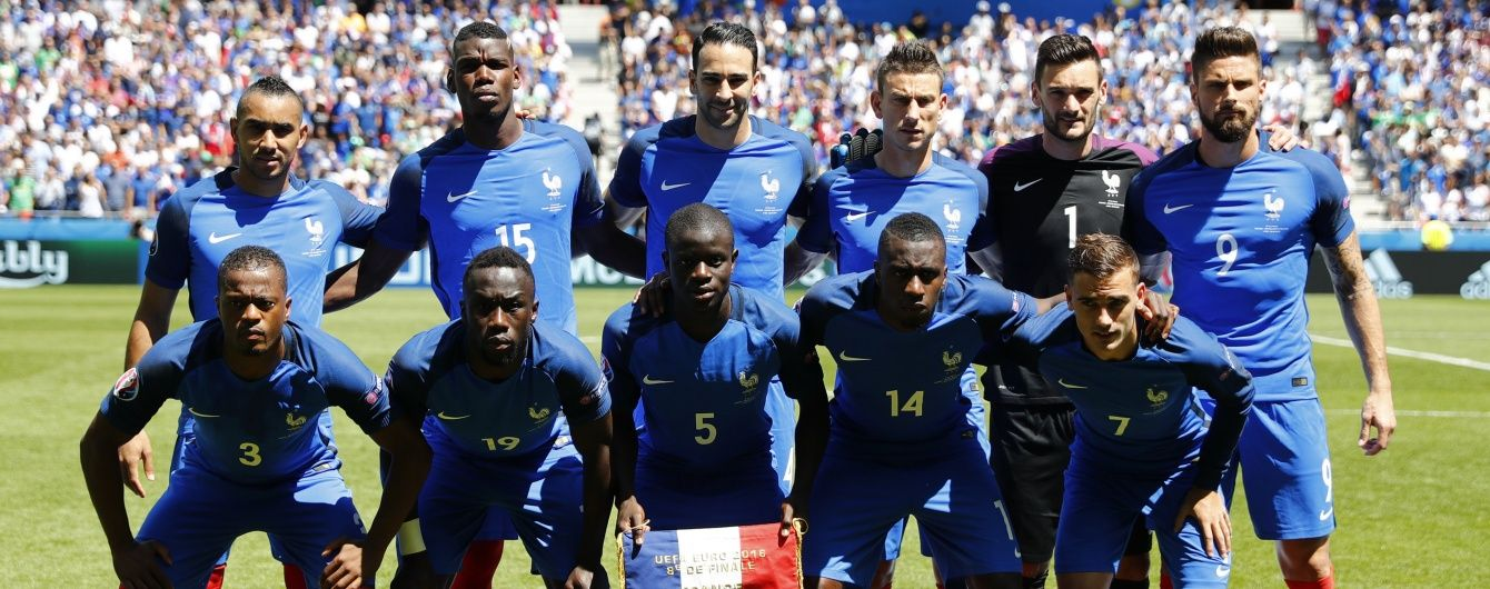 Збірну Франції раптово перевірили на допінг під час Євро-2016