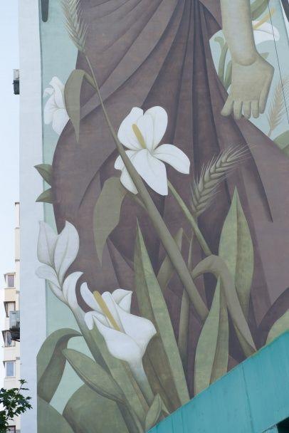 У Києві створили найбільшу візантійську фреску-мурал у світі