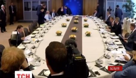 В Брюсселе лидеры ЕС обсуждали соглашение об ассоциации с Украиной и санкции против России