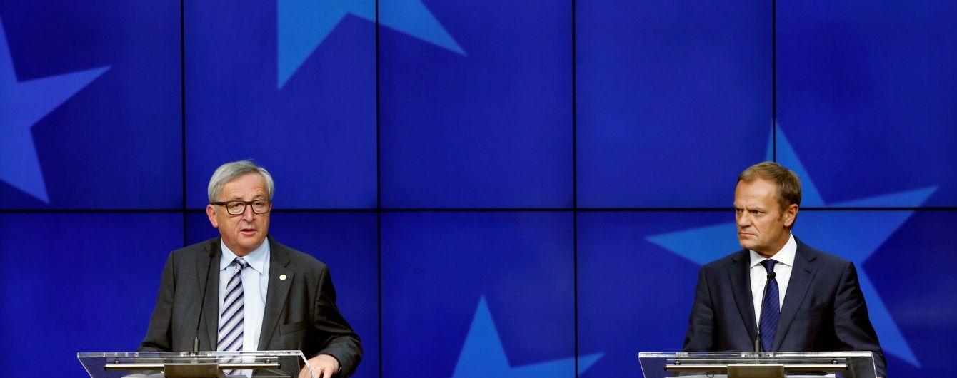 Лідери ЄС погодились із Порошенком зберегти санкції проти Росії