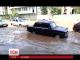 У столичному мікрорайоні Позняки затопило одну із вулиць