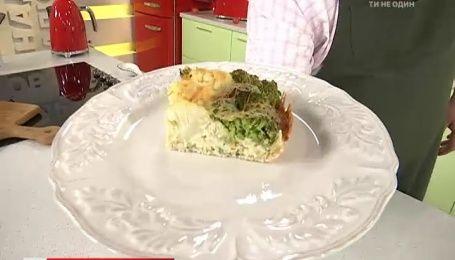 Рецепт запіканки з броколі від Руслана Сенічкіна