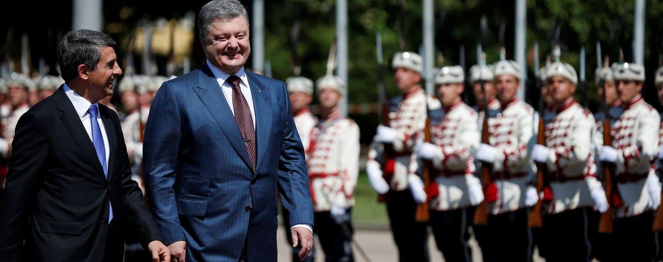 Порошенко домовився з болгарами про спільну флотилію
