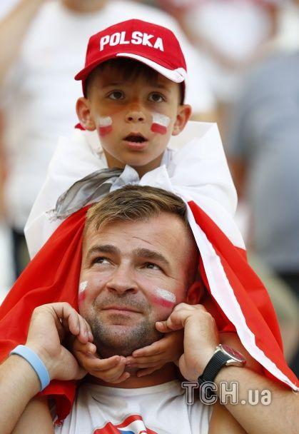 Польський вождь та португальський фан на полі. Найкращі уболівальники Євро за 30 червня