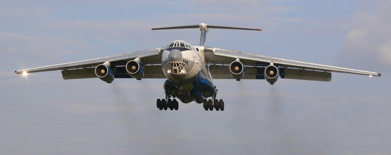 У РФ екіпаж щосили намагався врятувати Іл-76 від падіння