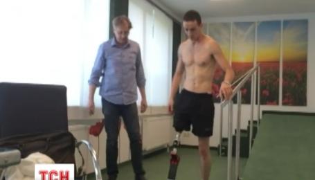 Герой АТО може отримати перший спортивний протез в Україні